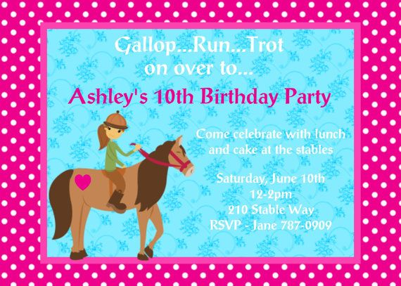 western horse birthday invitation by cutiestiedyeboutique on etsy, Wedding invitations