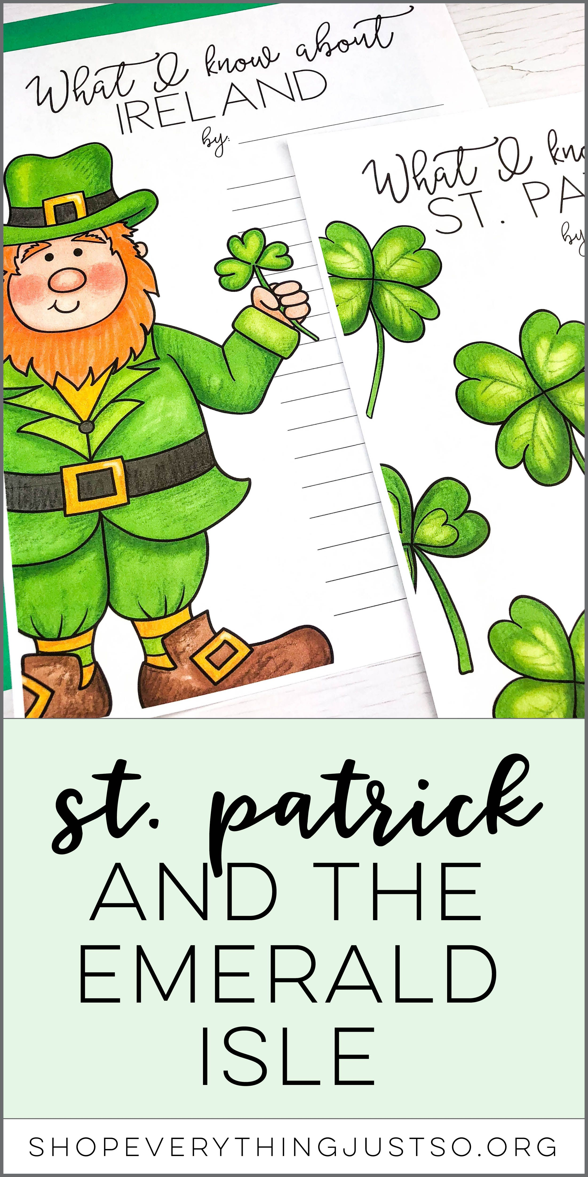 St Patrick And The Emerald Isle