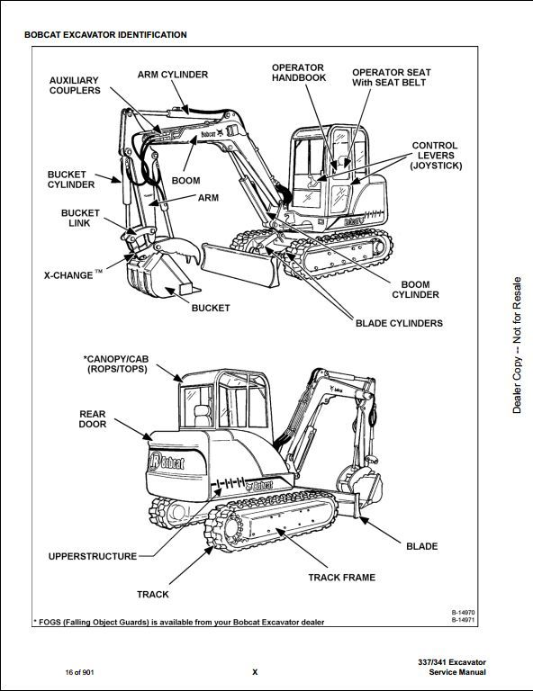 bobcat 337 341 mini excavator service repair workshop manual rh pinterest com Kubota Diesel Wiring Diagrams Kubota Wiring Diagram PDF