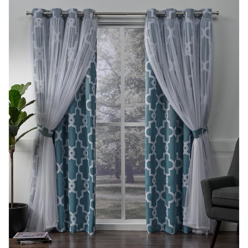 Amalgamated Textiles Alegra 52 In W X Home Curtains Curtains Grommet Top Curtains