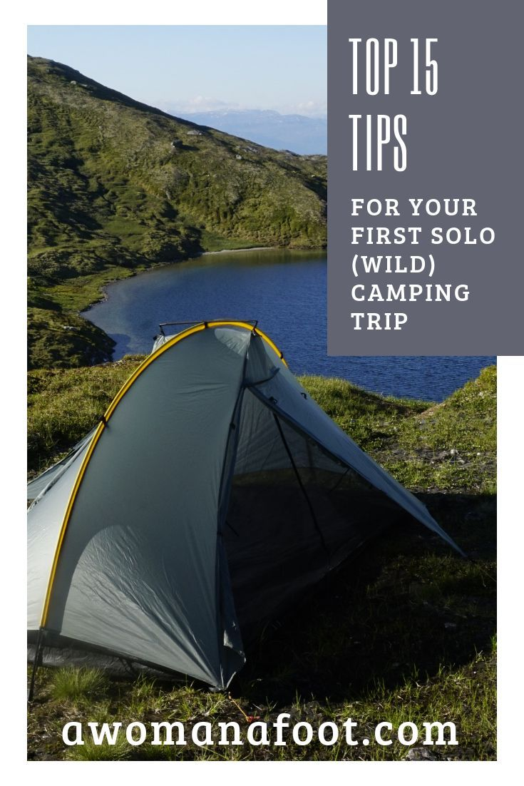 Photo of 15 Tips for Your First SOLO Camping Trip! — A Woman Afoot