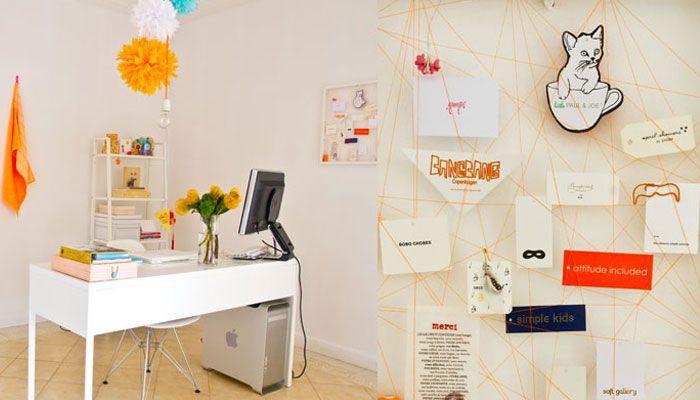 wire board | Home | Pinterest | White desk office, White desks and ...