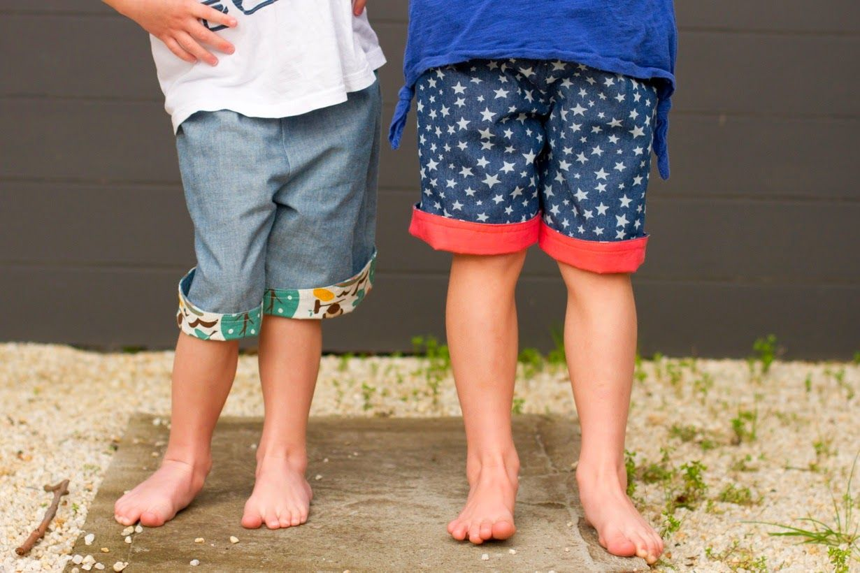 make it perfect: .A FREE PATTERN:: 2-in-1 Shorts. | Sewing for Kids ...