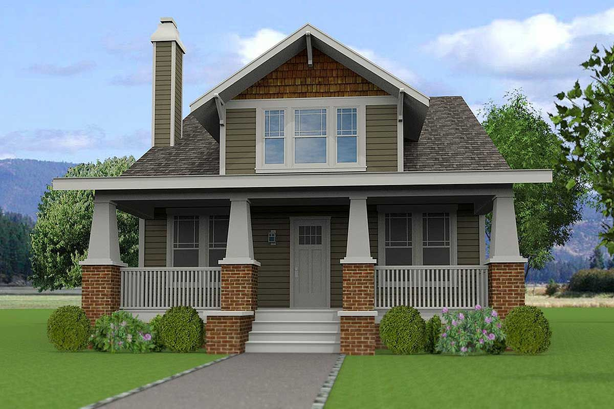Plan 50146ph 4 Bedroom Craftsman With Lots Of Options