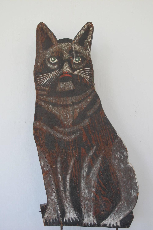 Pin by Ken ScottArtist on Fireboards/cats Folk art cat