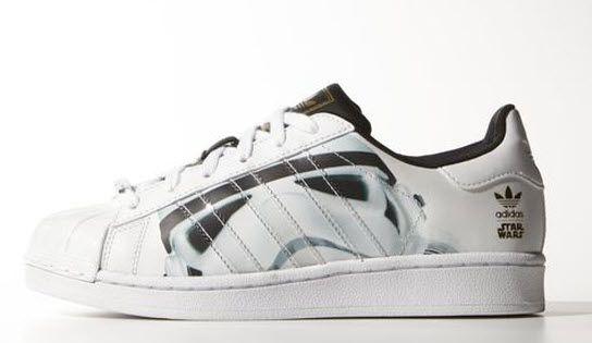 Adidas Superstar Star Wars Stormtrooper Shoes | Adidas star
