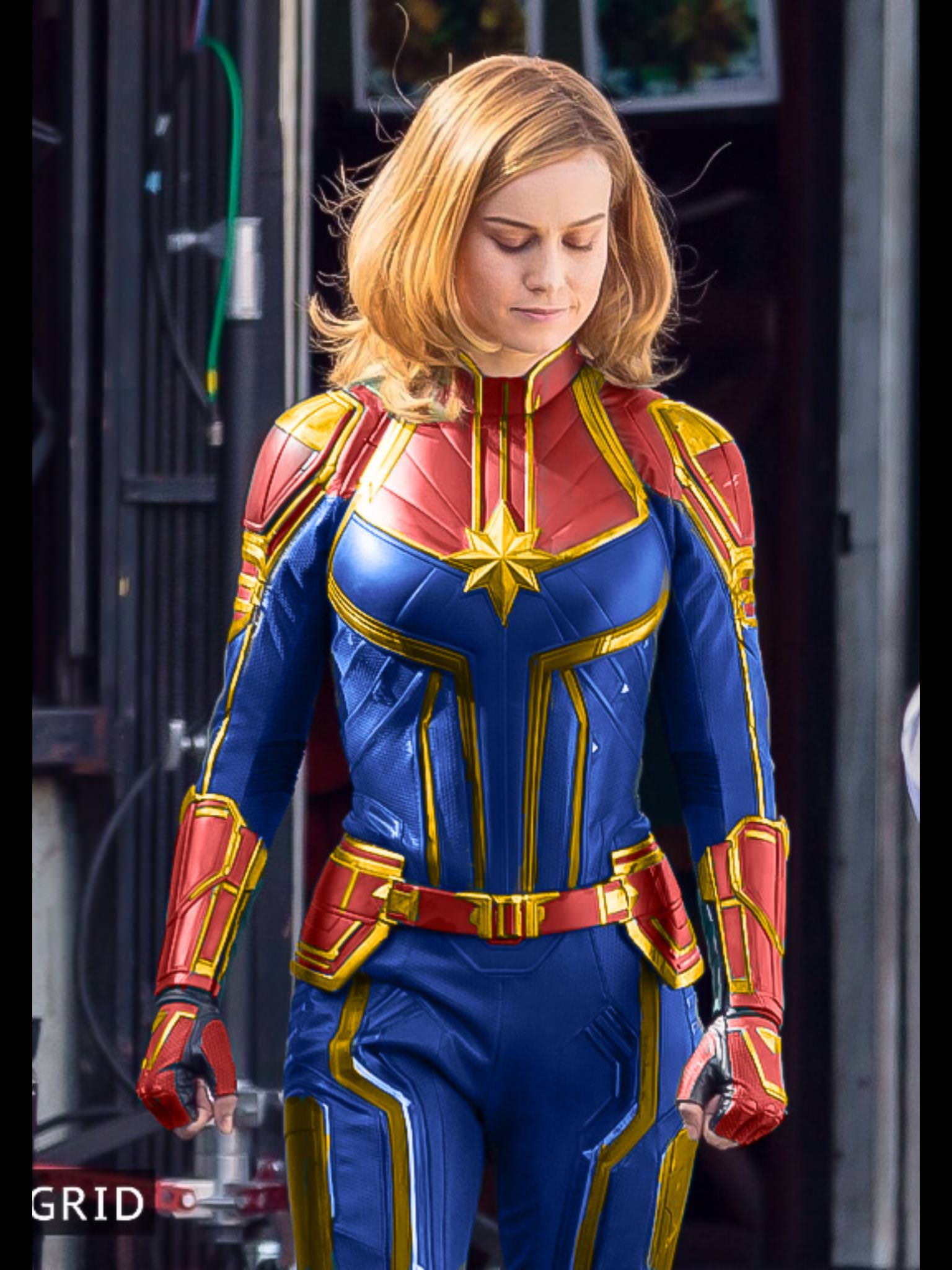 Captain Marvel Suit Front View Coloring Attempt Captain Marvel Costume Captain Marvel Trailer Captain Marvel 10 marvel characters more powerful than mcu's captain marvel. pinterest