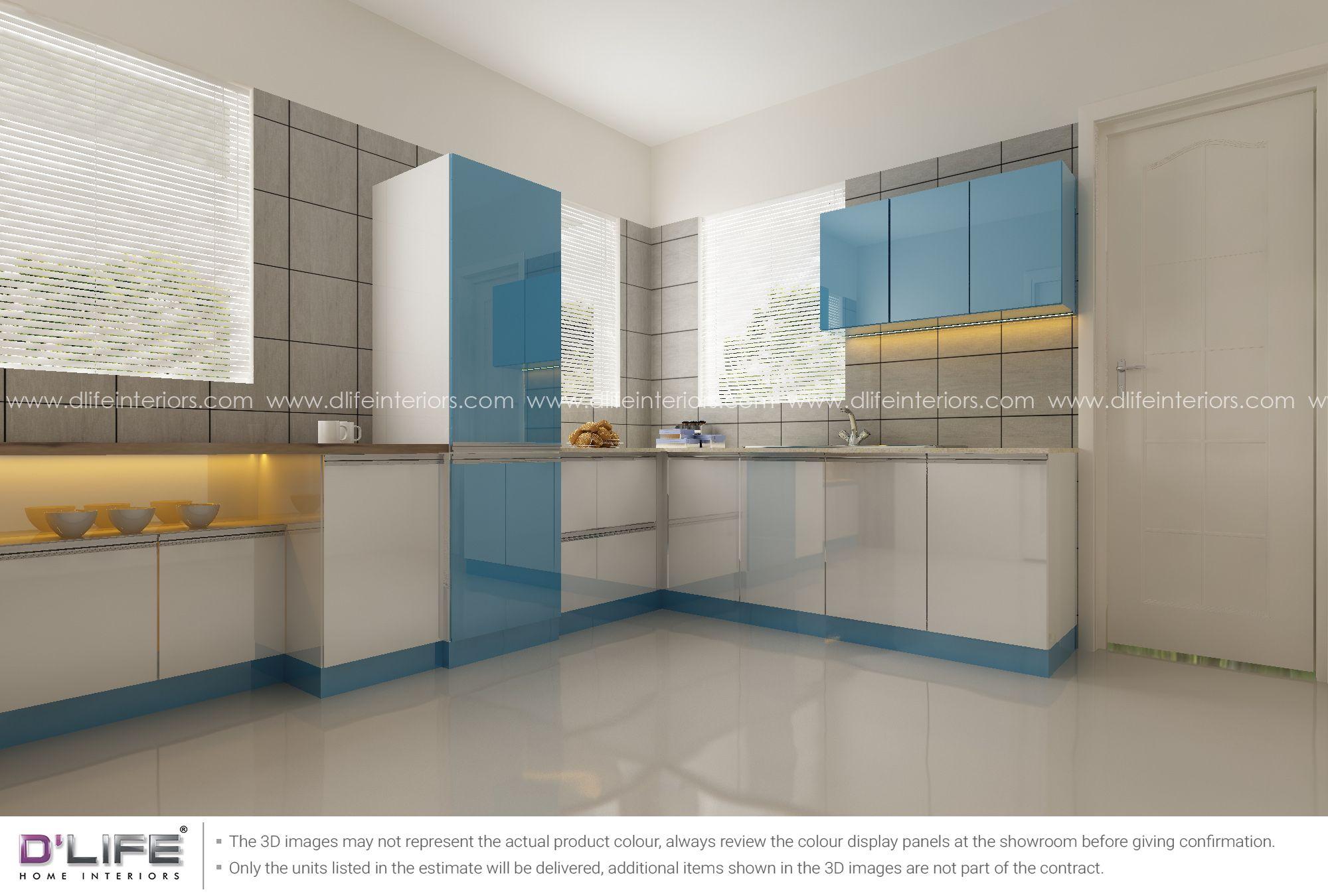 Best Modular Kitchen Design In Kerala Interior Design 400 x 300