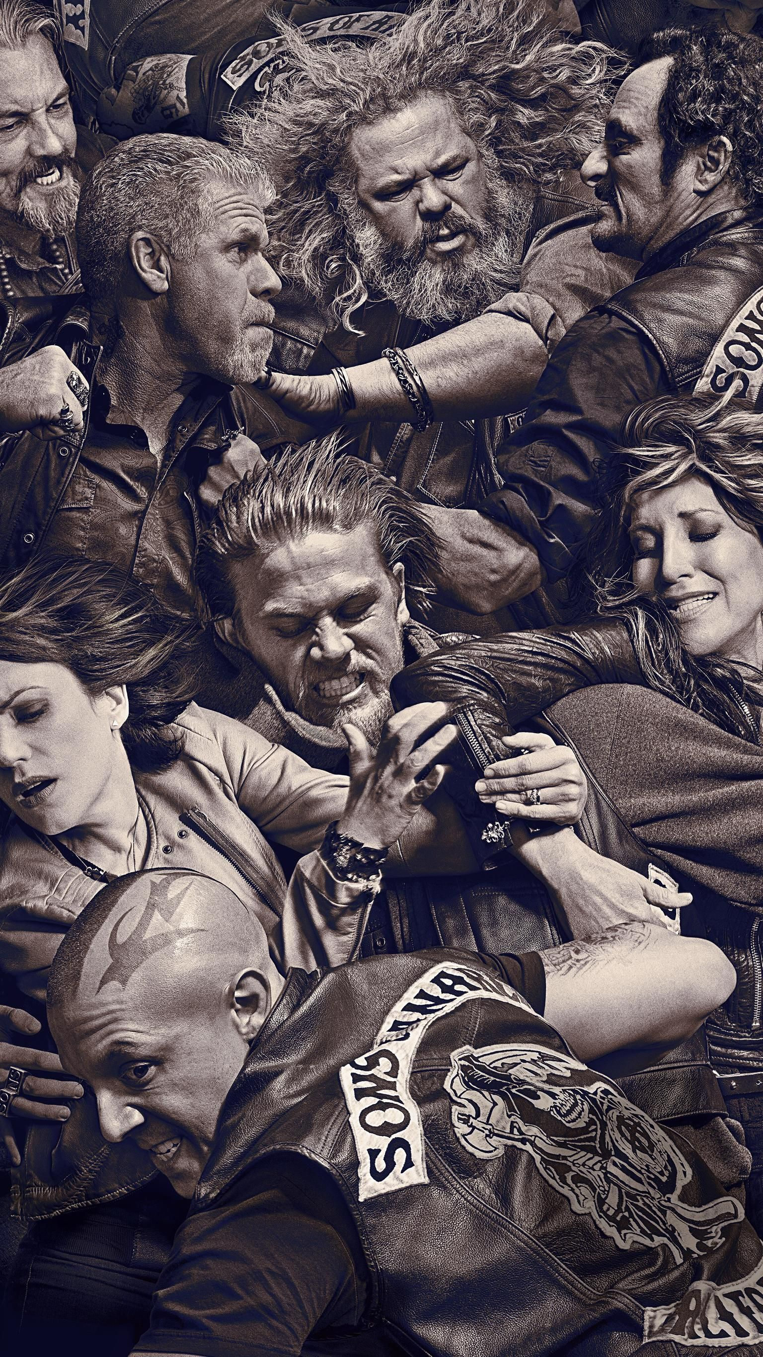 Sons of Anarchy Phone Wallpaper in 2020 Sons of anarchy