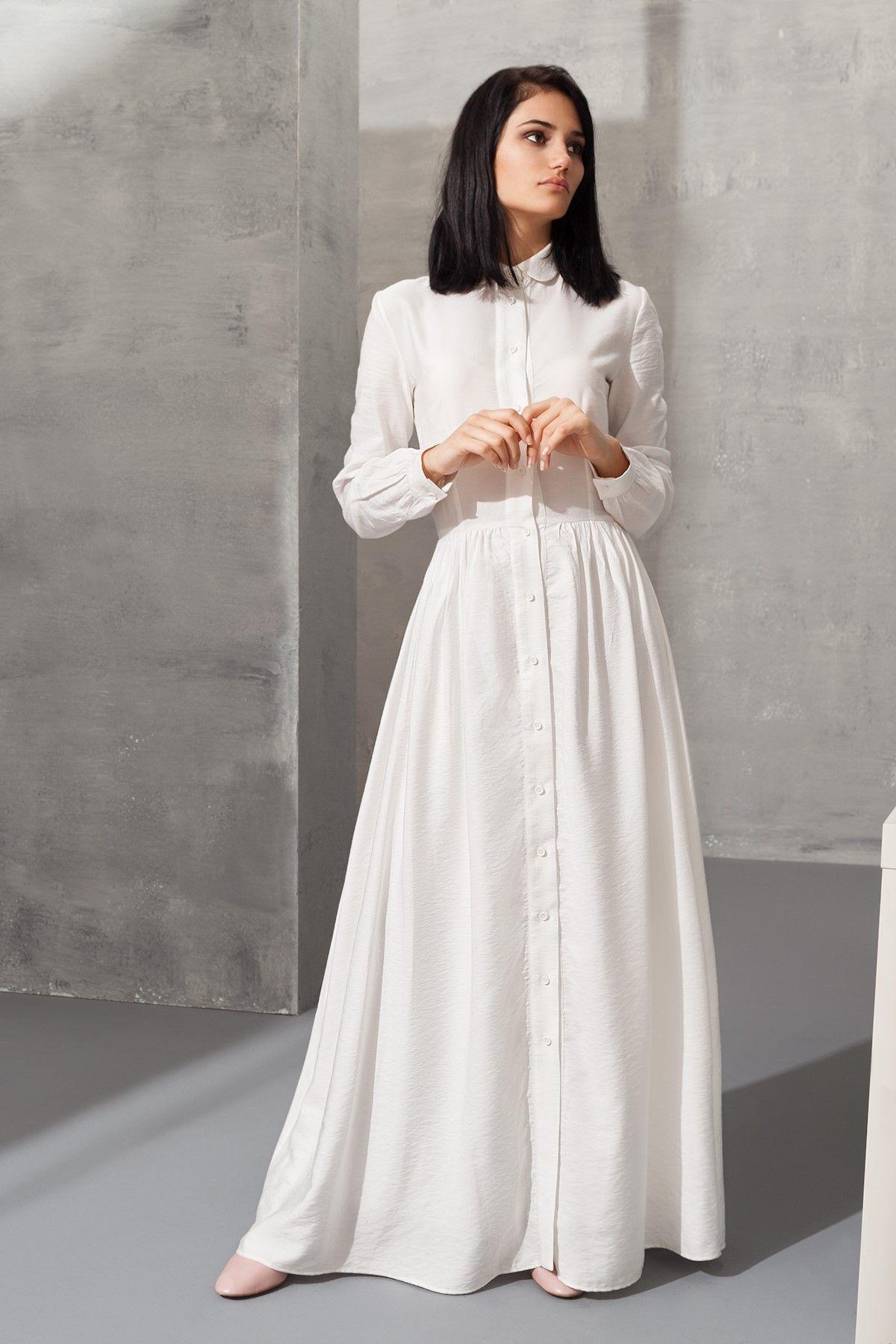 Beyaz Elbise Vavss1600513 Fiyat 129 99 Https Www Trendyol Com Beyaz Elbise Vavss1600513 Urundetay 50279 21174243 Kadin Giyim Elbise Blazer Elbise