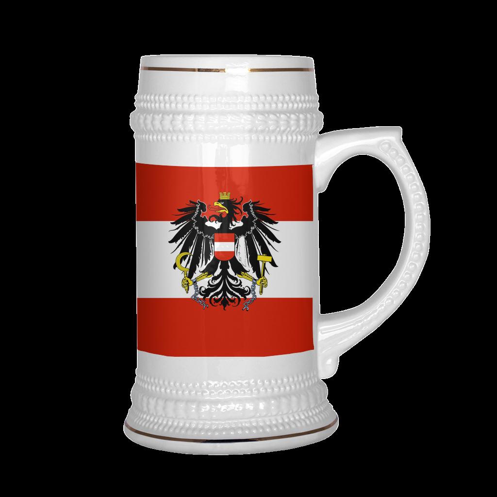 Austrian Coat of Arms 22oz Beer Mug Beautiful beer, Beer