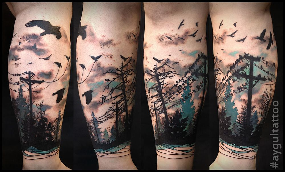 tattoo work tree tattoo men forest tattoos watercolor tattoo tree tree tattoo men forest tattoos