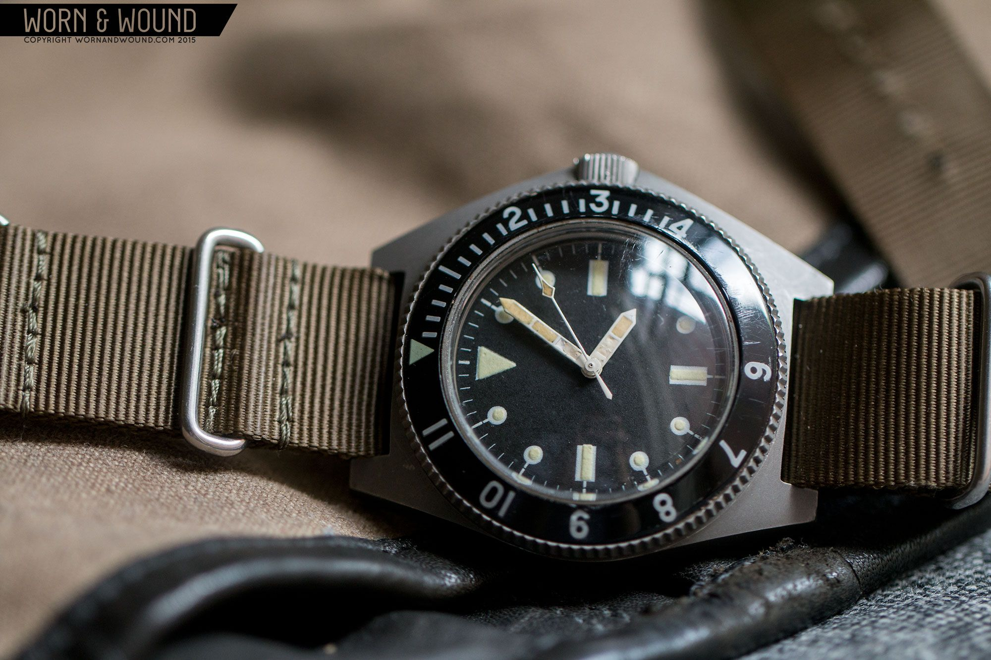 Benrus Type I and Type II MIL W 50717 Military Dive Watches