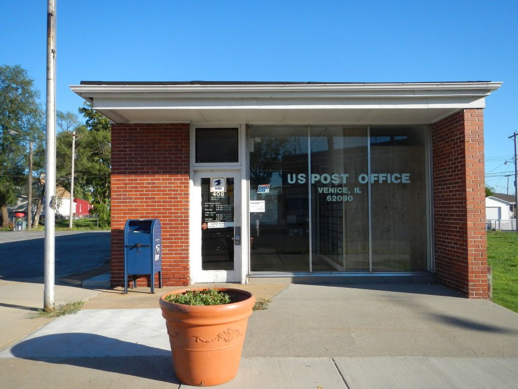 Venice Illinois Post Office Post office, Office fan, Office