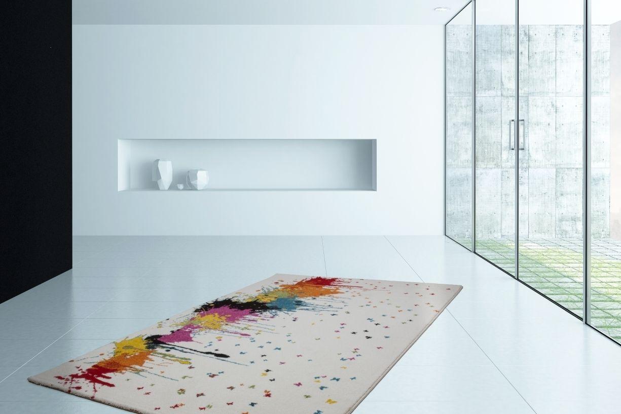 Wohnzimmer dekorieren ~ Dezenter indianer teppich. http: www.teppich flor.de guayama 241
