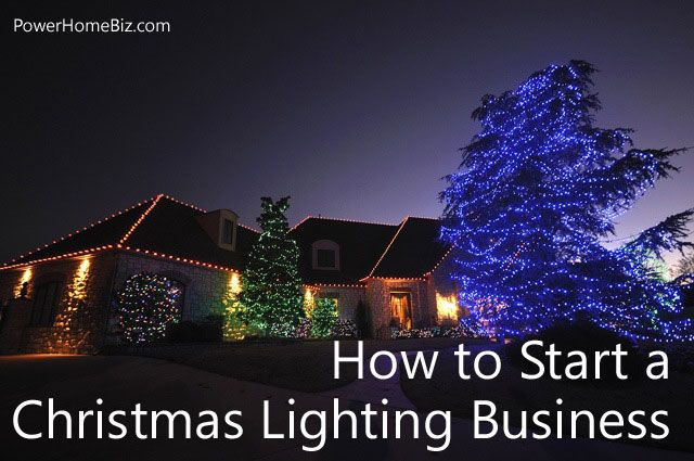 Do you love Christmas lights and not afraid of electricity? Learn how to  start a Christmas lighting installation business. - How To Start A Christmas Lighting Installation Business Pinterest