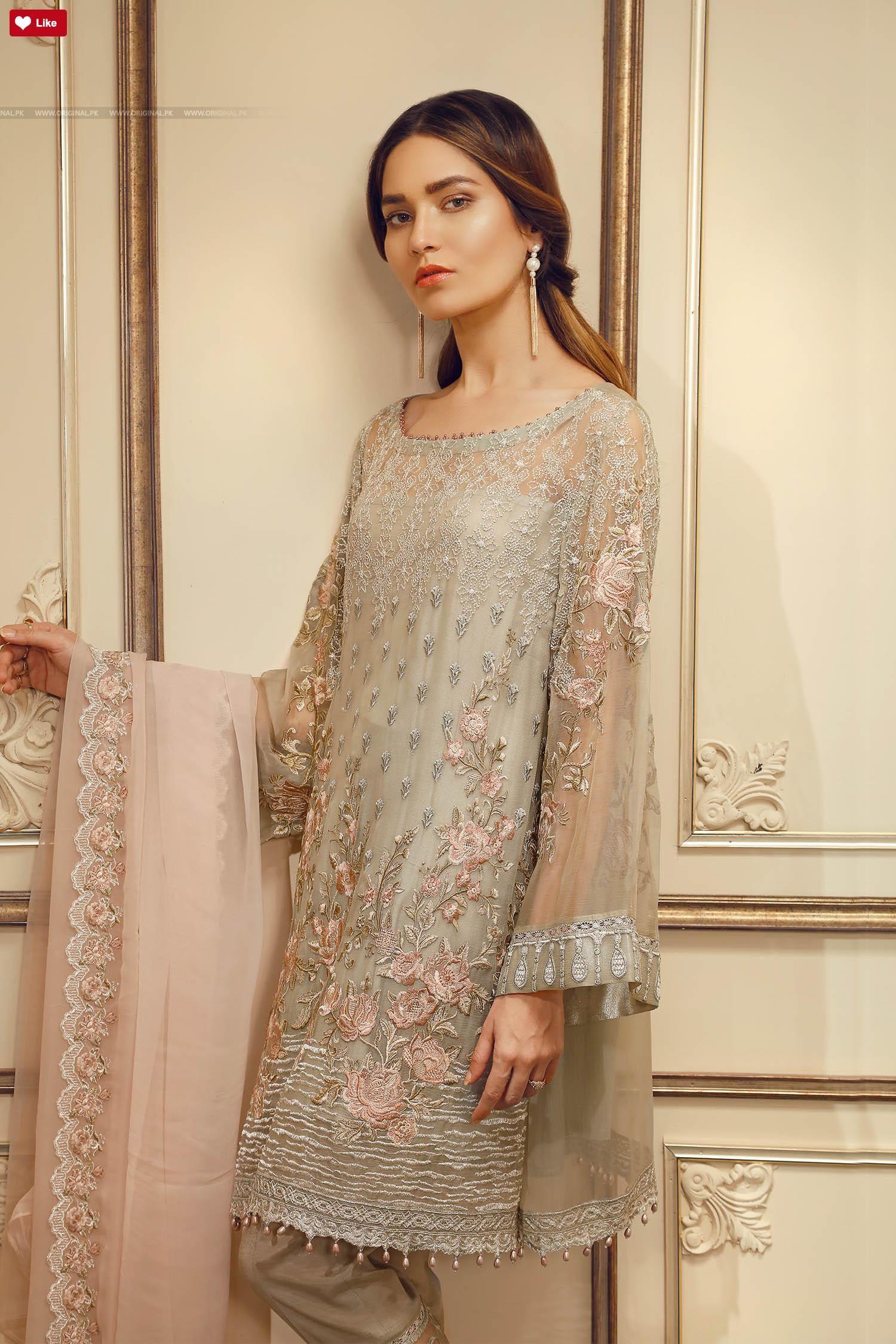 f247b5be1a Baroque Pastel Perfection Chantelle 2017 1 Pakistani Dress Design, Pakistani  Designers, Pakistani Bridal Wear