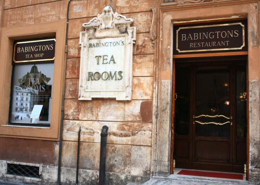Babington's, first tea room in Rome.Learn. Live. Love ...