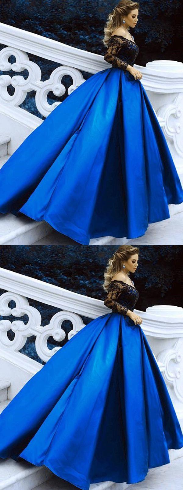 Prom dress aline simple beautiful lace vintage long prom dress