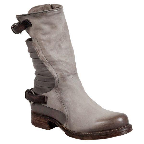 Fantastic Womens Motorcycle Boots Combat Flat Biker Slip On Buckle Rivets Fashion Black All Size Free ...