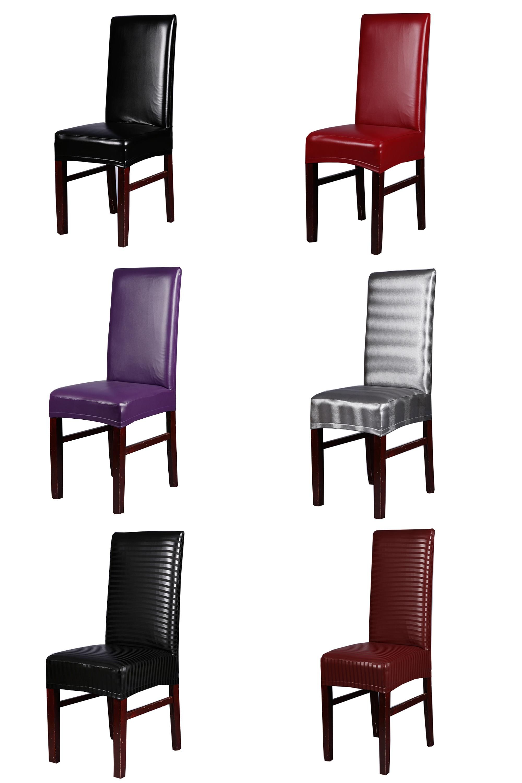Visit to Buy] Office Chair Cover Spandex stoelhoezen eetkamer ...