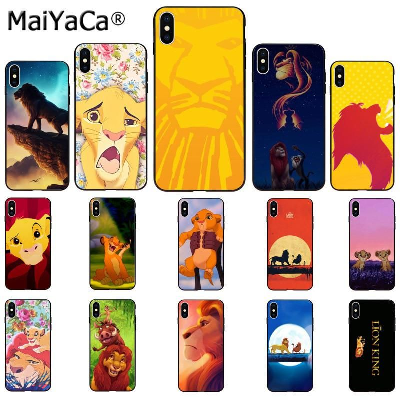 coque iphone xr lion king