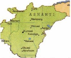 asante kingdom | Ashanti Empire - Wikipedia, the free encyclopedia on kingdom of ethiopia map, ancient ghana map, medieval ghana map, empire of ghana west africa map, classical empires in africa map,