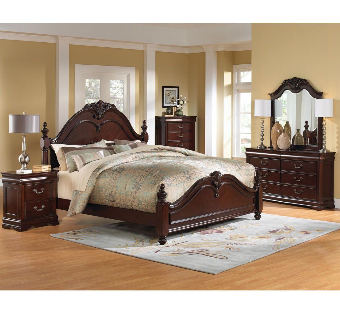 Marisol 5 Pc King Bedroom Group Badcock More Dengan Gambar