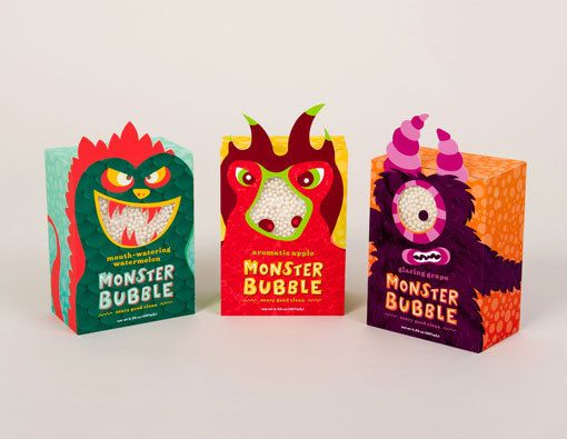 packaging and character shapes