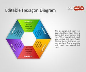 Free Editable Hexagon Diagram For Powerpoint Is A Simple But