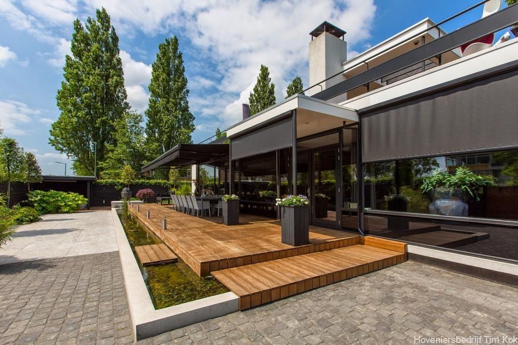 Grote Moderne Tuin : Welnesstuin rotterdam hillegersberg luxe tuin moderne tuin