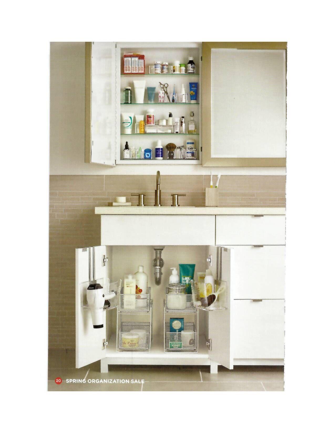 Bathroom organization for the home pinterest for Bathroom organization ideas pinterest