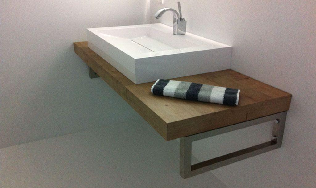 Waschtischkonsole selber planen Waschtisch, Gäste wc und Bäder