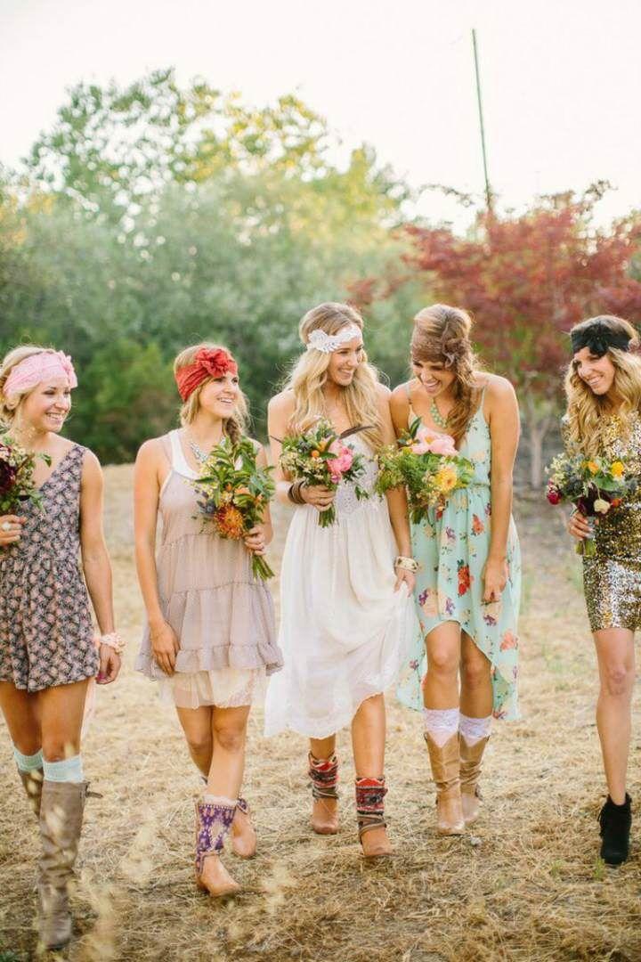 ramo de flores magnfico decoracin de boda en estilo boho