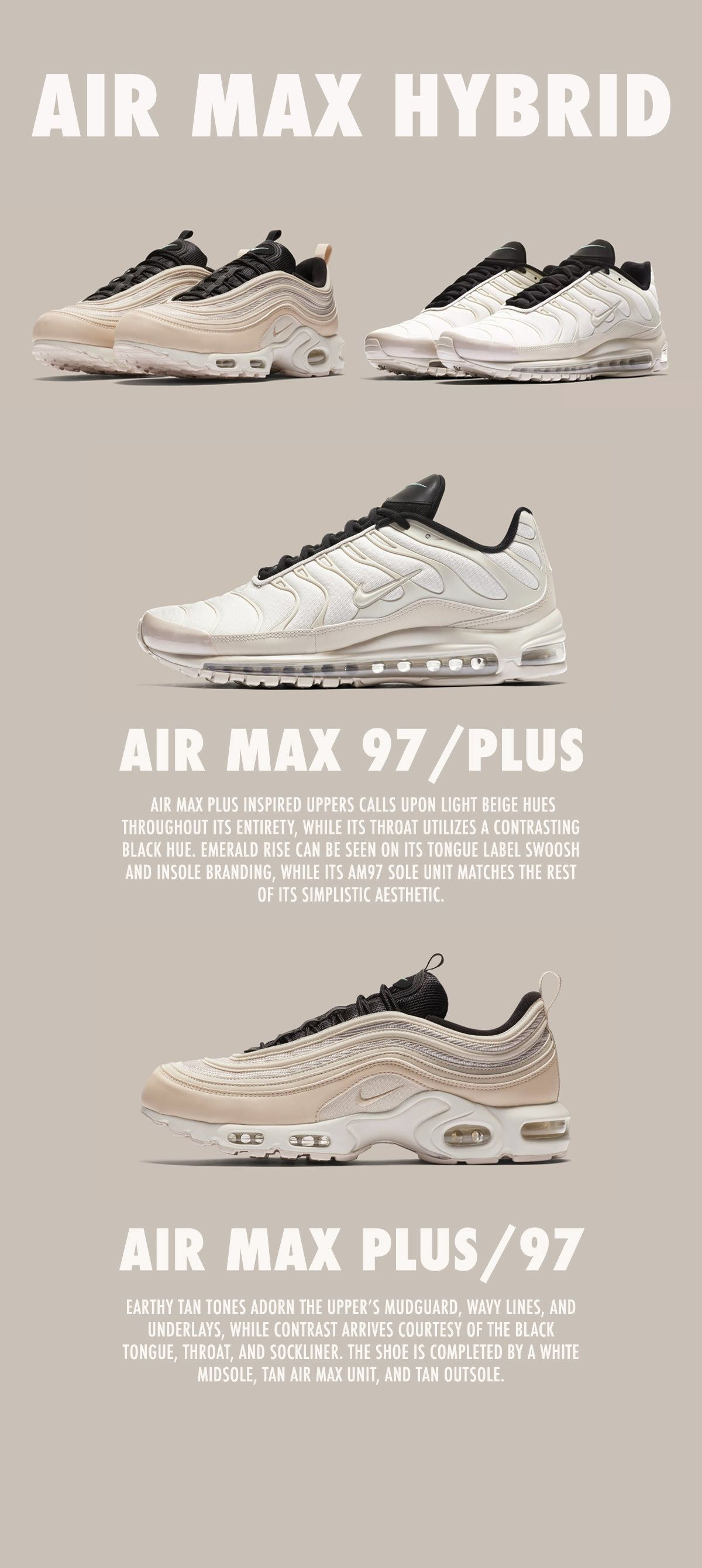 official photos 91f43 54153 Nike Air Max 97 Plus | Sneaker Adverts in 2019 | Nike air ...