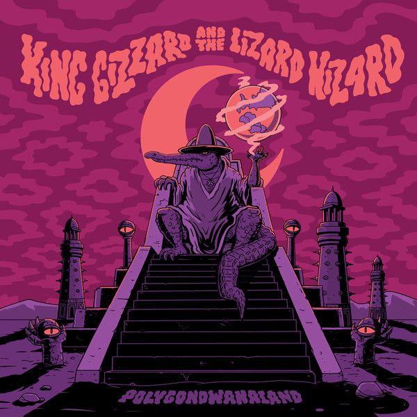 King Gizzard The Lizard Wizard Polygondwanaland Alternative Artwork By Jase Harper 600 X 600 Album Art Rock Album Covers Music Poster Concert Posters