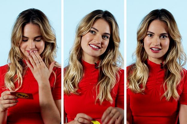 Can You Beat Mamma Mia 2 Star Lily James At This Abba Lyric Quiz