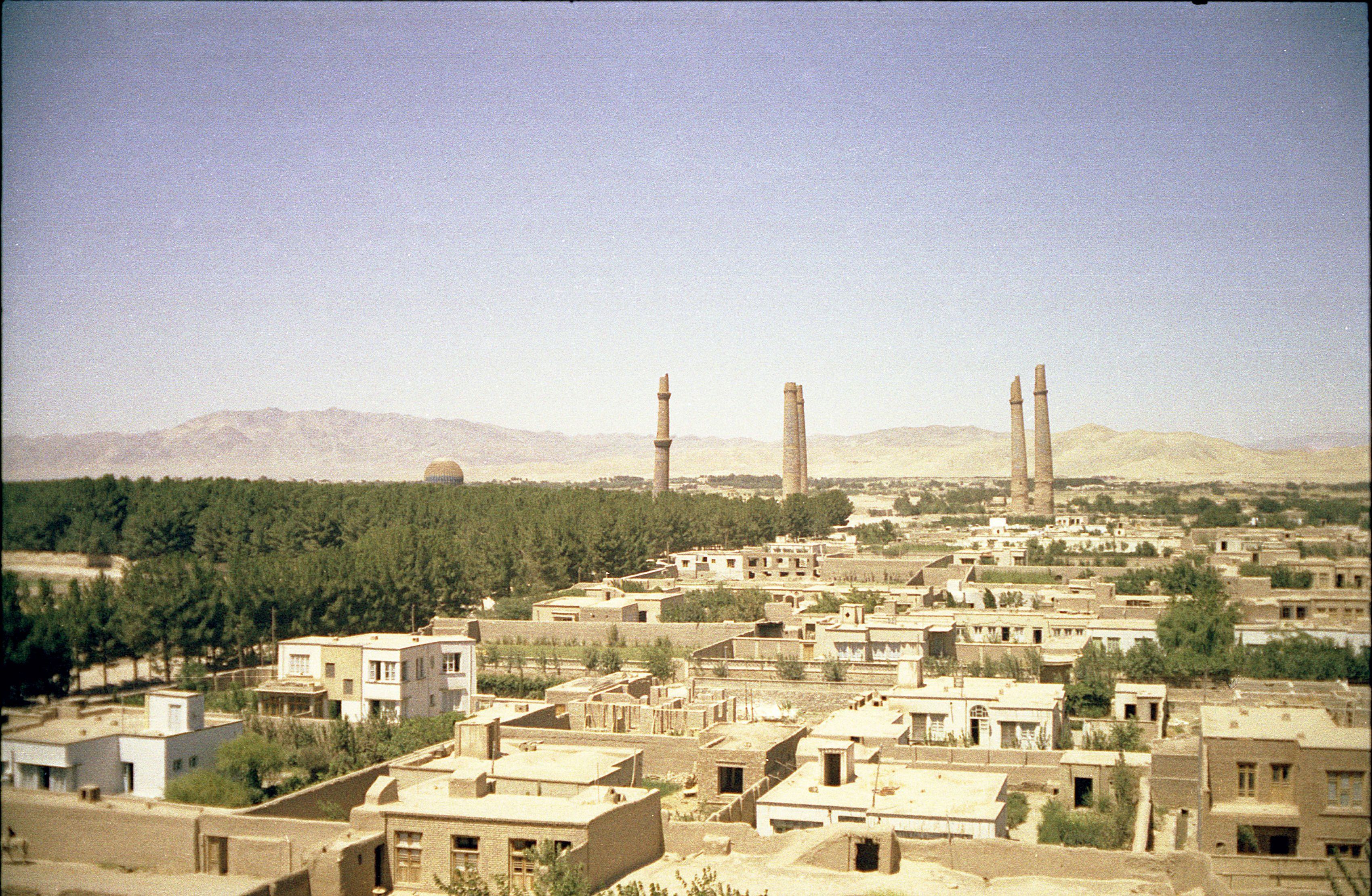 Historical Herat Afghanistan In 1960 This Is What Is Would Look