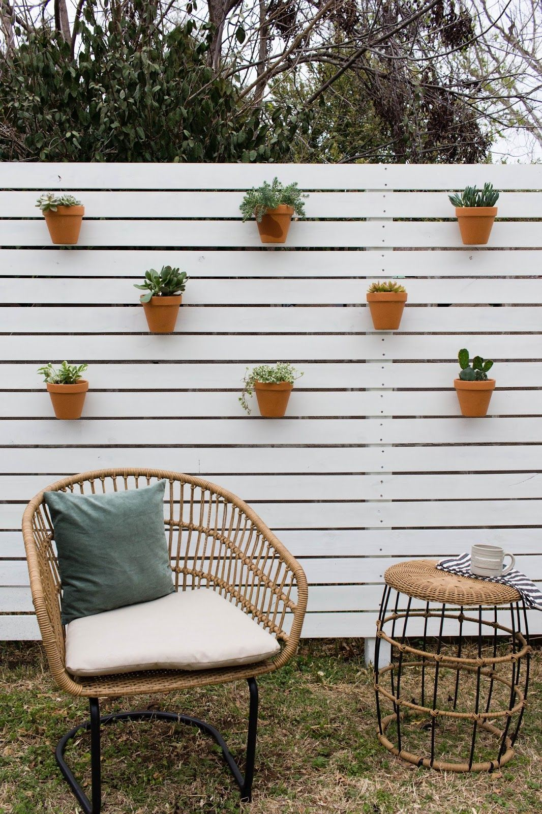 Horizontal Privacy Fence   Pinterest   Privacy fences, Fences and ...