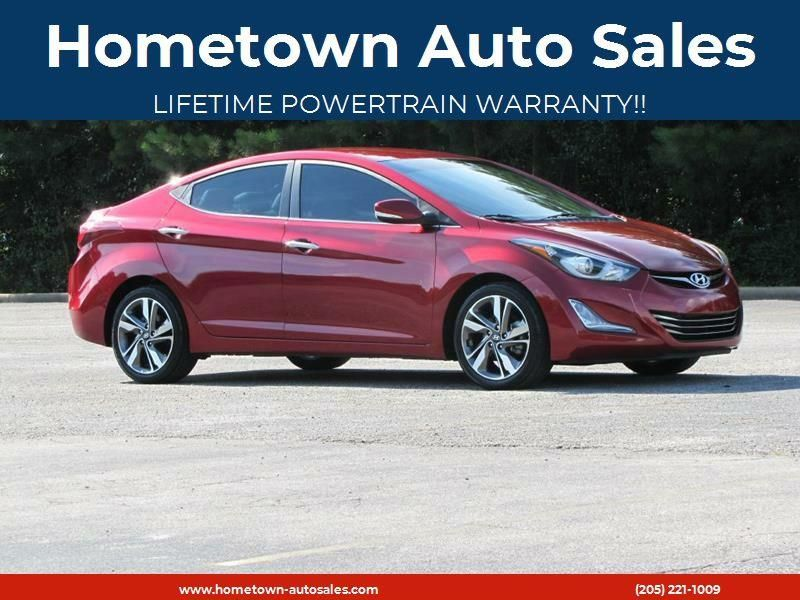 2014 Hyundai Elantra For Sale At Hometown Auto Sales In Jasper Al Cars For Sale Hyundai Elantra Car Buying