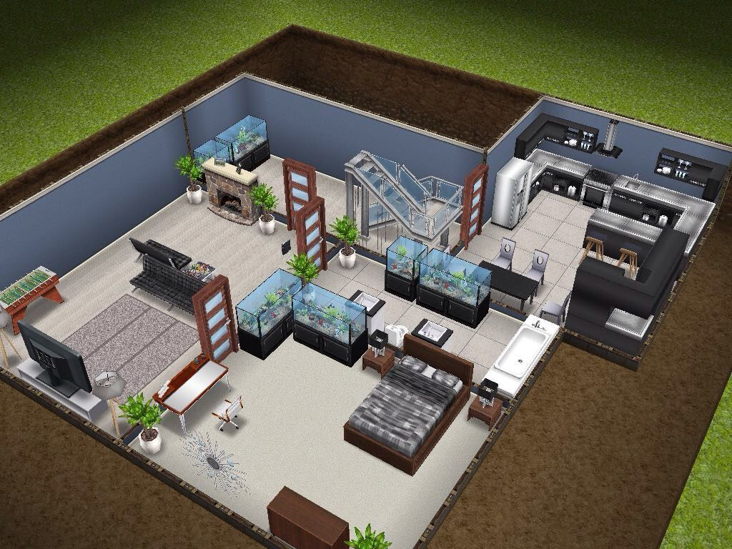 House Basement Addition Sims Simsfreeplay Simshousedesign