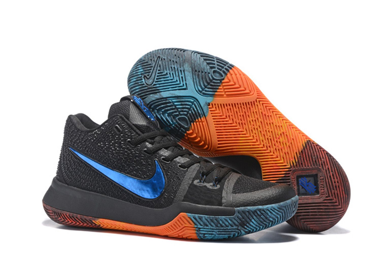 best service 74399 32ca2 ... Cheap Priced Nike Kyrie Irving 3 BHM Sale. NBA Kyrie Irving 3 BHM  Basketball Shoes on www.nbakobe12.com