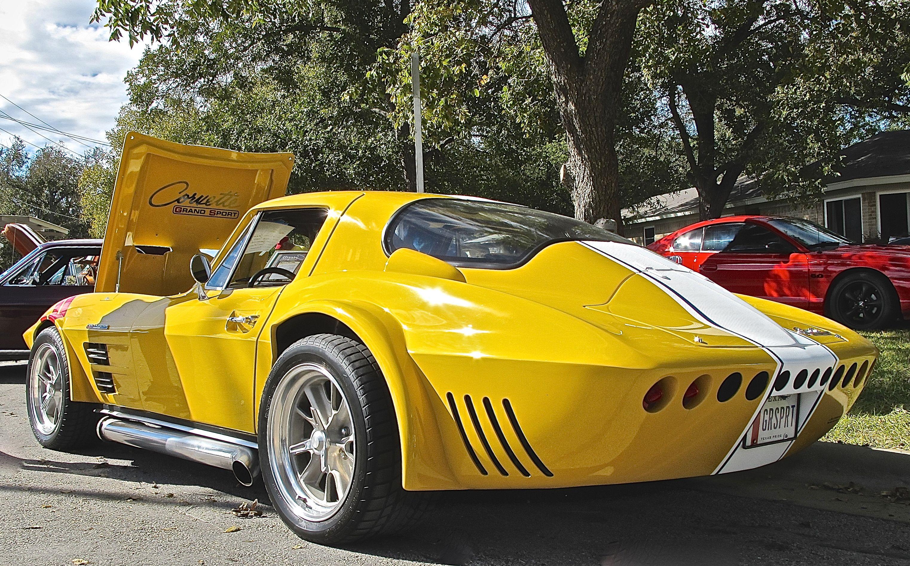 1963 corvette grand sport custom