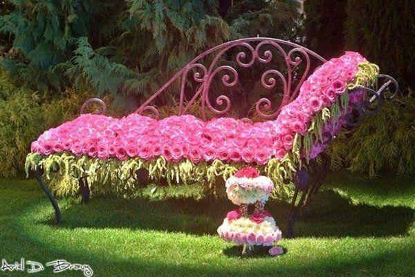 111 Gartengestaltung Bilder und inspiri u0435rende Ideen für Sie PLANT SCULPTURE Gartengestaltung  ~ 19174051_Gartengestaltung Ideen Bilder Rosen