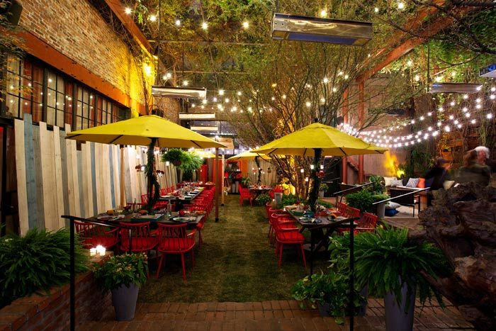 Marvelous Winter Garden Party Ideas Part - 3: On A Chilly New York Night, Crate U0026 Barrel Hosted A Summery Garden Party To