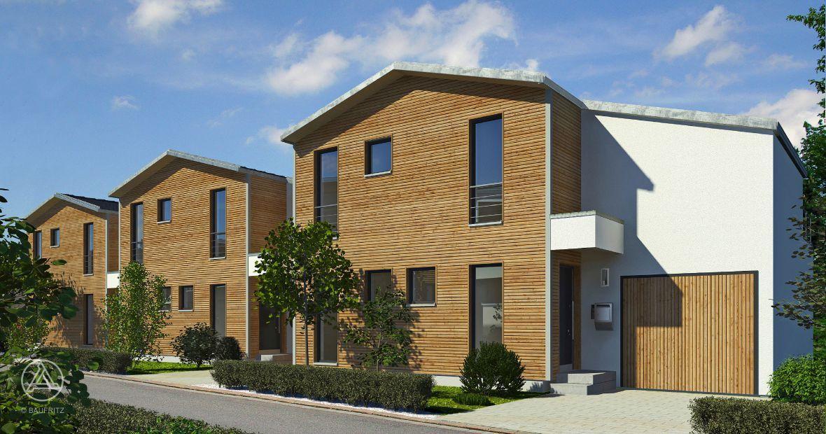 Amazing Beim Konzept Kettenhaus Stehen Die Häuser Nicht Direkt Nebeneinander,  Sondern Sind Jeweils Durch Eine Garage