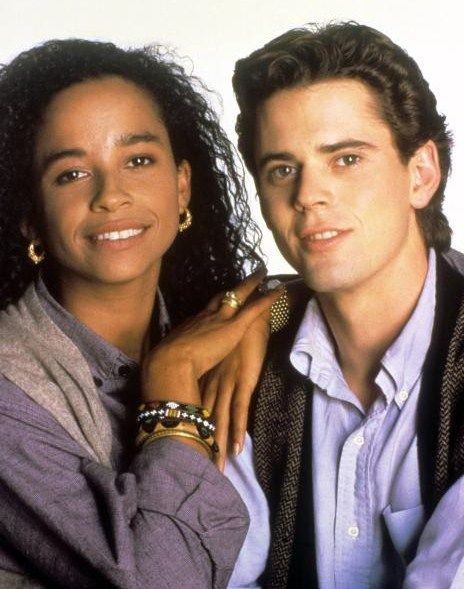 With Soul Man Costar And First Wife Rae Dawn Chong -8493