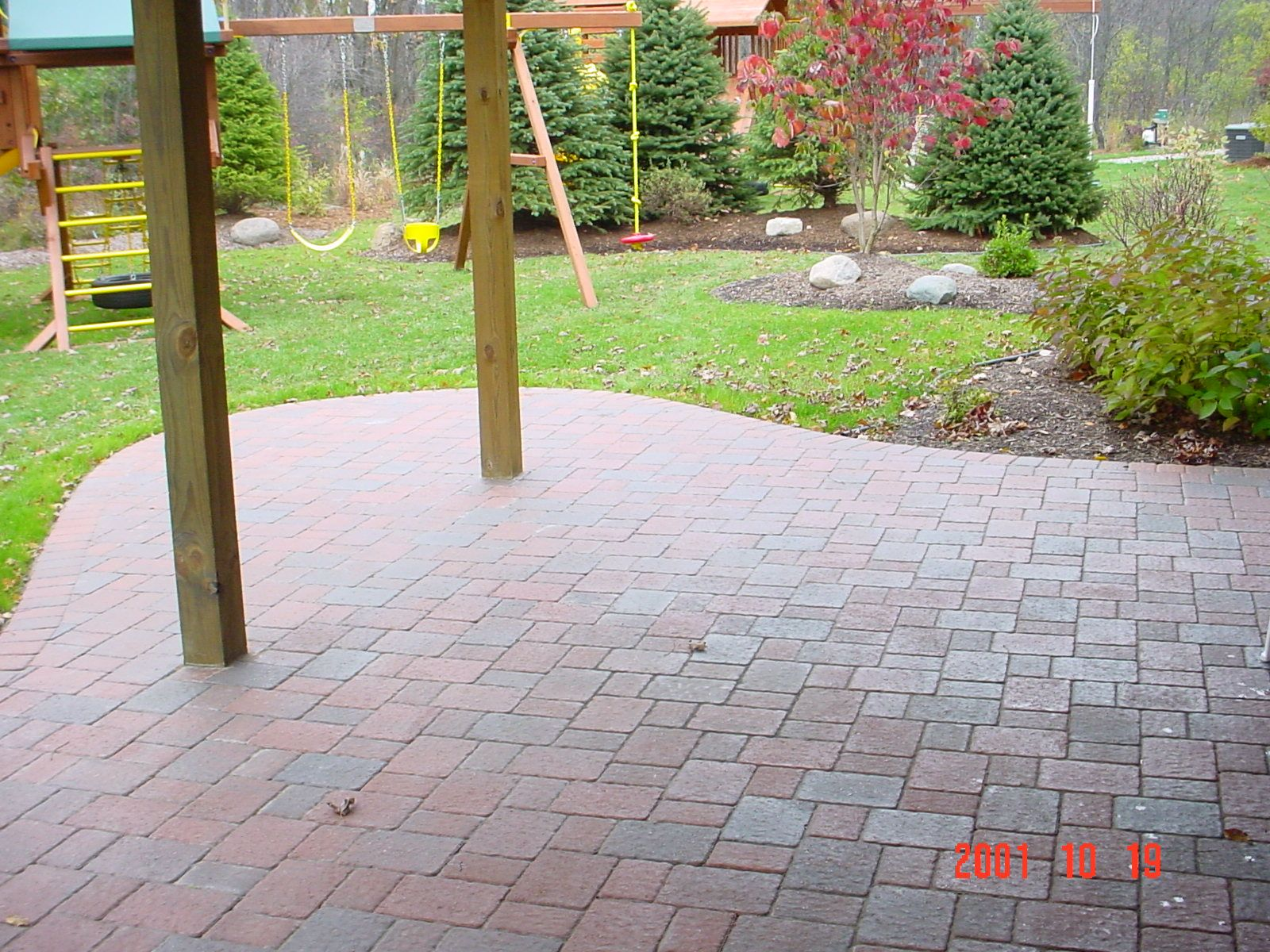 Paver Patio Under Deck. Was Just Thinking About Doing Something Like This