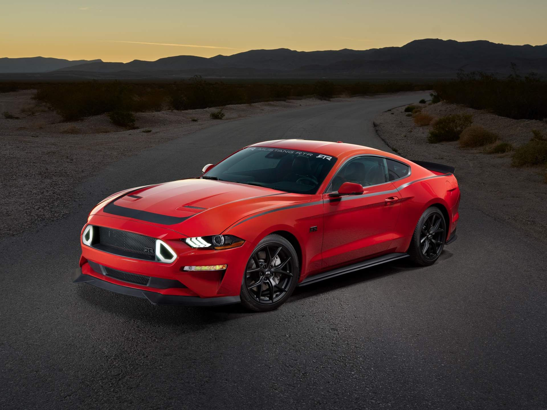 Series 1 Mustang Rtr By Ford Performance Debuts At Sema Show Carscoops Ford Mustang Mustang 2019 Ford