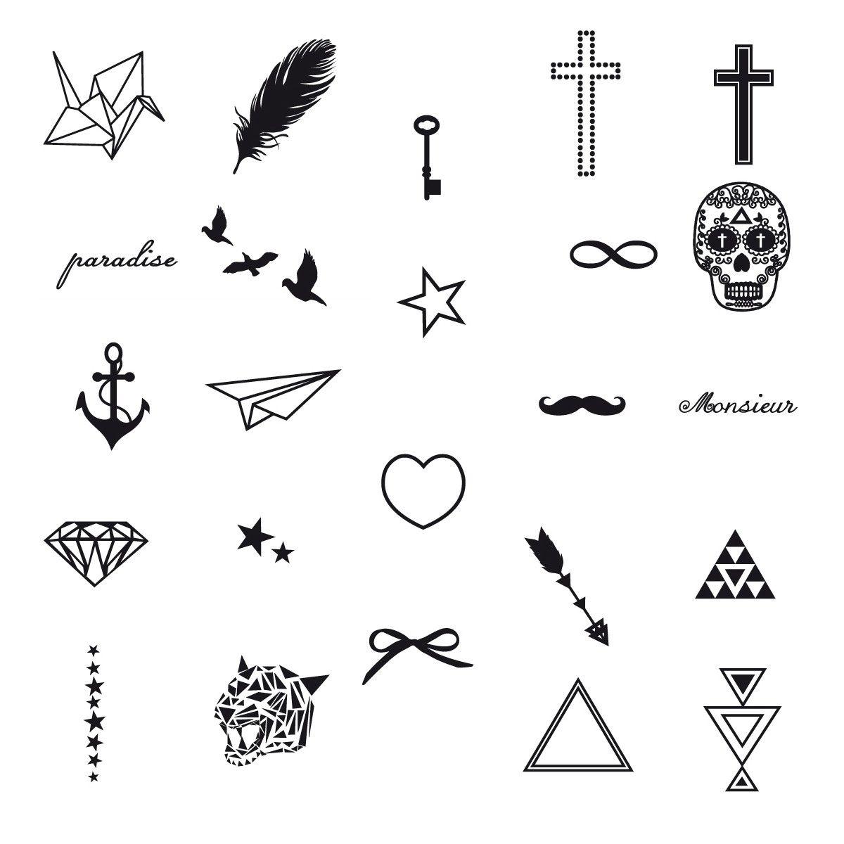 Idées De Motifs Pour Faire Des Tatouages 3 Lo Que Amoooo